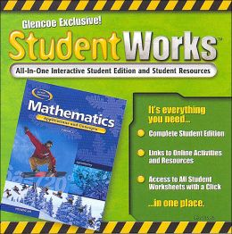 Mathematics: Applications and Concepts, Course 2, Studentworks CD-ROM