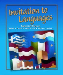 Invitation to Languages, Student Edition