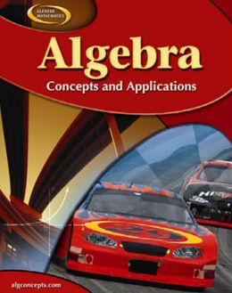 Algebra: Concepts and Applications, Student Edition