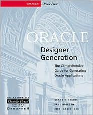 Oracle Designer Generation