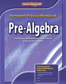 Glencoe Pre Algebra Workbook Answers - Worksheets for Kids ...