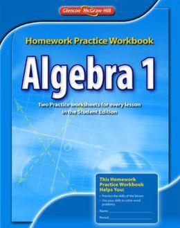 Algebra 1, Homework Practice Workbook