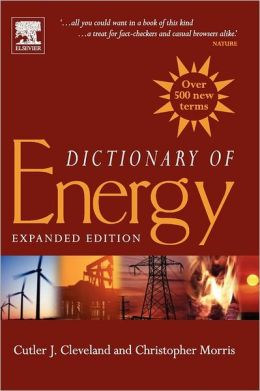 Dictionary of Energy: Expanded Edition