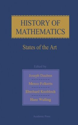 History of Mathematics: States of the Art