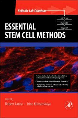Essential Stem Cell Methods