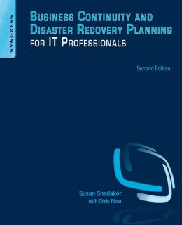 Business continuity and disaster recovery planning for it professionals pdf