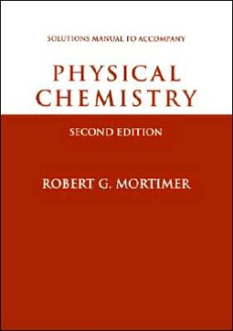 Physical Chemistry, Student Solutions Manual