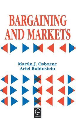 Bargaining And Markets