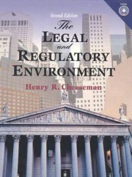 Legal and Regulatory Environment: Contemporary Perspectives in Business