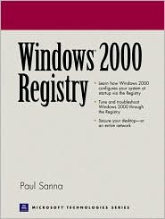 Windows 2000 Registry