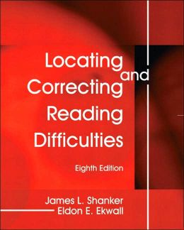 Locating and Correcting Reading Difficulties