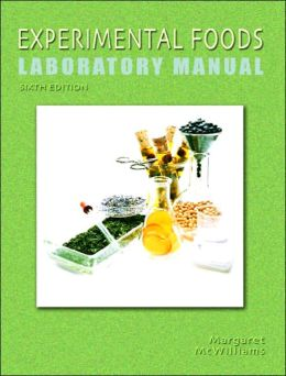 Experimental Foods Laboratory Manual