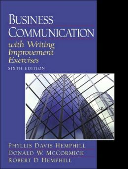 Business Communication with Writing Improvement Exercises