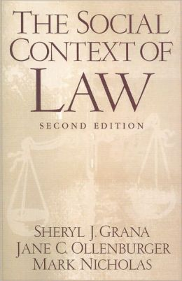 The Social Context of Law