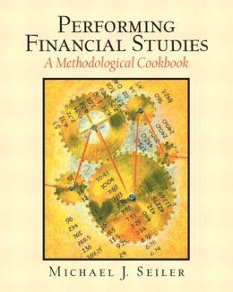 Performing Financial Studies : A Methodological Cookbook