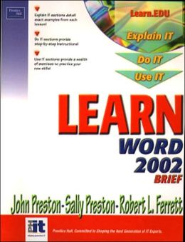 Learn Word 2002 Brief