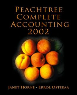Peachtree Complete Accounting 2002 with Cdrom