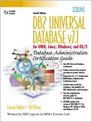 DB2 Universal Database v7.1 for UNIX, Linux, Windows and OS/2 Database Administration Certification Guide