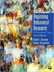 Beginning Behavioral Research: A Conceptual Primer