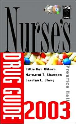 Prentice Hall Nurse's Drug Guide 2003