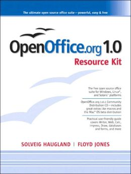 The OpenOffice.Org 1.0 Resource Kit