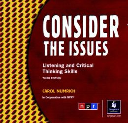 Consider The Issues Classroom Audio Program, Audiocassettes (2)