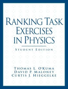 Ranking Task Exercises in Physics: Student Edition
