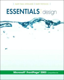 Essentials for Design: Microsoft FrontPage 2003 Comprehensive