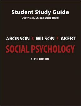 Social Psychology Student Study Guide