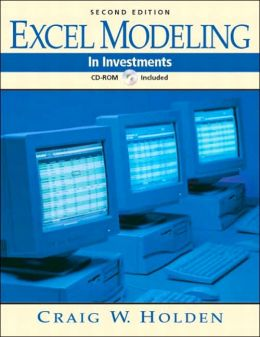 Excel Modeling in Investments Books