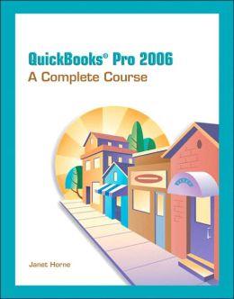QuickBooks Pro 2006: Complete Course