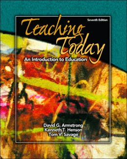 Teaching Today : Introduction to Education