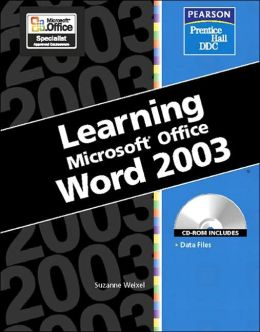 Learning Microsoft Office, Word 2003