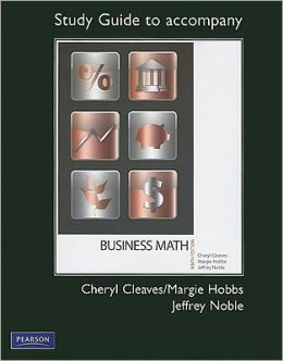 Study Guide for Business Mathematics Complete and Brief Editions