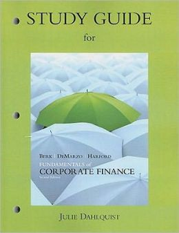 Study Guide for Fundamentals of Corporate Finance