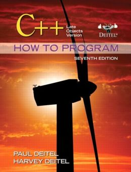 C++ How to Program: Late Objects Version