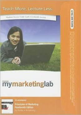 MyMarketingLab with Pearson eText Student Access Code Card for Principles of Marketing