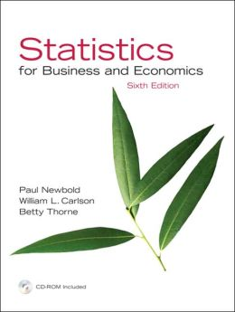 Statistics for Business and Economics and Student CD