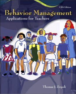 Behavior Management: Applications for Teachers
