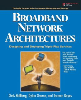 Broadband Network Architectures: Designing and Deploying Triple Play Services