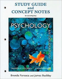 Study Guide for Psychology: An Exploration