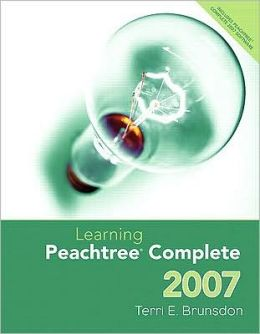 Learning Peachtree Complete - with CD