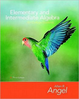Elementary and Intermediate Algebra for College Students [With CDROM]