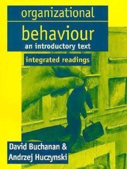 Organizational Behaviour: Integrated Readings