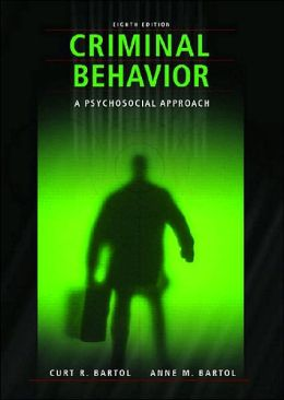 Criminal Behavior: A Pyschosocial Approach
