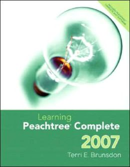 Learning Peachtree Complete 2007 and Peachtree Complete CD Package