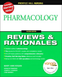 Prentice Hall Reviews & Rationales: Pharmacology
