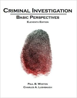 Criminal Investigation: Basic Perspectives