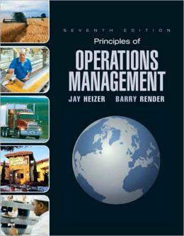 Principles of Operations Mangement