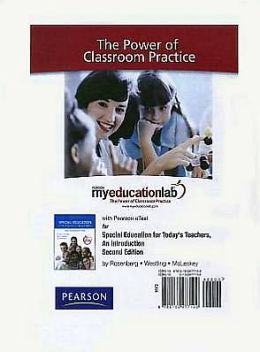 MyEducationLab with Pearson eText -- Standalone Access Card -- for Special Education for Today's Teachers
